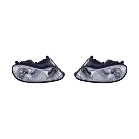 Chrysler Concorde Headlight Assembly - Fits Chrysler Concorde 2002-2004/Chrysler LHS 01 Headlight Assembly Pair Driver and Passenger Side