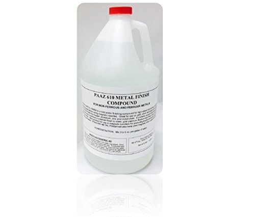 Paaz 610 Metal Finish Compound (POLYCHEM MF 610) 1 Gallon by Paaz Jewelry  Supply