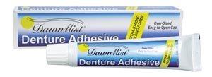 Dukal DA2 Dawn Mist Denture Adhesive, Individually Boxed, 2 oz. Tube (36 Boxes of 4) (Pack of 144)