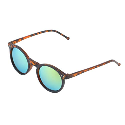 de Lente Formulaone Espejo de de Gafas BZ017 Marco Hombres Retro Lente Gafas Unisex Sol de Vintage Sol plástico Lente Gafas Mujeres Redonda Colores XnqXOr