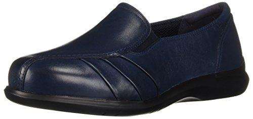 Aravon Women's Faith Loafer Flat, Blue, 5 2E US