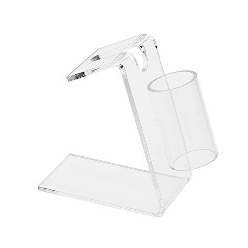 Acrylic Rack Transparent (Walmeck 1Pc Tattoo Machine Holder Acrylic Transparent Tattoo Supply Stand Rack Rest Organzier)