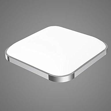 LED Lá mpara de Techo, Vander Life 36W moderna LED luz de techo 45CM 3000K-6000K regulable blanco cá lido + blanco frí o + blanco bañ o panel LED Lá mpara (Blanco)