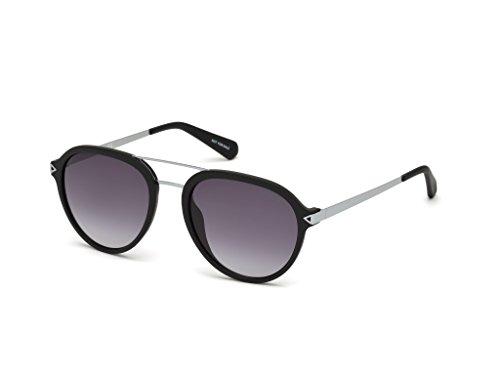 Black double Gradient de 54 Matte lunettes pont mat GU6924 noir Guess en pilote 02B Grey soleil ZIHqpnxw1