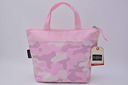 JanSport Lunch Tote (Cotton Candy Camo)