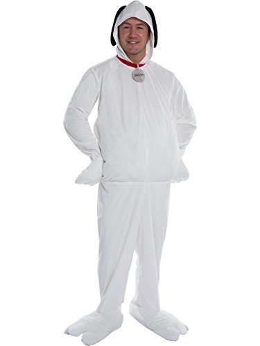 Peanuts Snoopy Beagle Dog Deluxe Men's Costume X-Large -