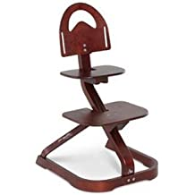 High Chair – Svan Signet Essential High Chair with Harness – Grows with your Child (Mahogany)