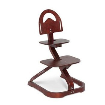 Merveilleux Wooden High Chair For Toddlers   Svan Signet Essential Chair, Mahogany