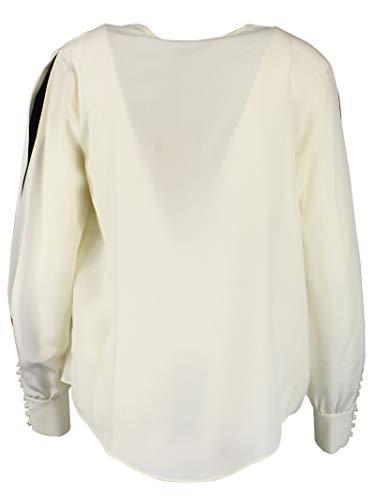 set Soie Blouse 191tp214100282 Blanc Femme Twin gHWnq4R4P