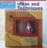 img - for Simple Scrapbooks: Ideas and Techniques W/ CD Rom book / textbook / text book