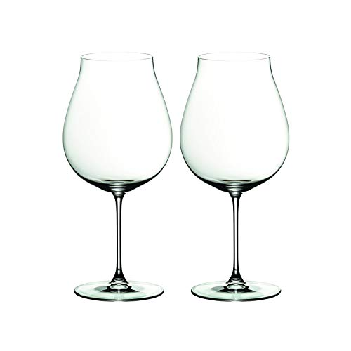 Riedel 6449/67 Veritas Pinot Noir Glass, Set of 2, Clear