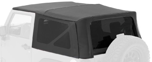 Bestop Replacement - Bestop 54722-35 Black Diamond Supertop NX Complete Replacement Soft Top w/ Tinted Windows for 2007-2018 Jeep Wrangler (except Unlimited)