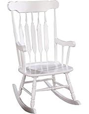 Coaster Home Furnishings Rocking Chair, White
