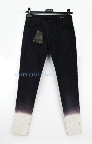 A/X 98% Cotton Women / Girls, Fading Black Size 00 Brand , Retail: - Armani Exchange Kids