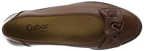 Gabor Shoes Comfort Basic, Mocasines para Mujer Marrón (Castagno 23)