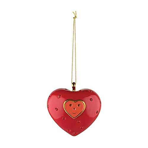 Alessi Cuore e Cuora (Heart) Faberjori Christmas Ornament Series II by Marcello Jori ()