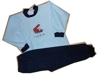 ce5ceb2a5569b Mauz by Wörner Boys  Pyjama Set Blue Bleu  Amazon.co.uk  Clothing
