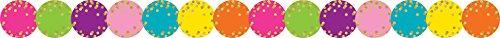 Confetti Circles Die-Cut Border Trim -