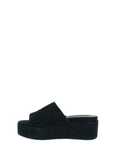 Compensées Femmes Sandales Noir 660235 Maritan q1w4ApE