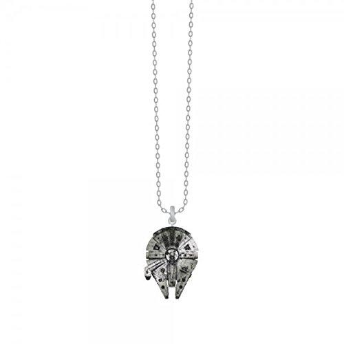 (Bioworld Star Wars Millennium Falcon Necklace)