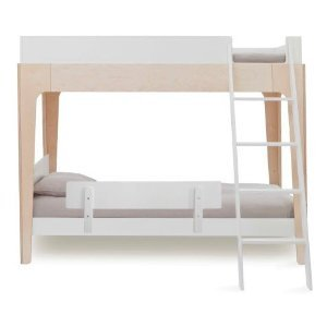 Oeuf Perch Modern Bunk Bed Birch + 1 Guard Rail for Bottom Bed