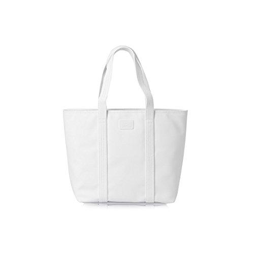 Bolso shopper Lacoste blanco