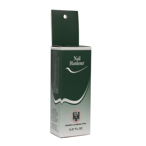12 Bottles Quimica Alemana Nail Hardener 0.47 Oz