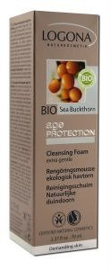 Logona Age Protection Cleansing Foam, 2.46 Fluid Ounce