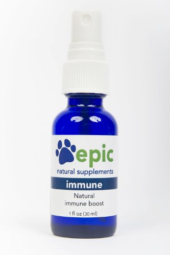 Epic Pet Health Immune – Boost the Immune System Naturally, Made in USA (Spray, 1 ounce)