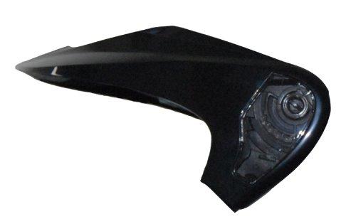 (Vega NT200 Helmet Visor (Black, One size/Adult) )