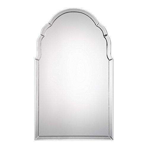 Uttermost Brayden 40x24 Inch Frameless Arch Wall Mirror - 09149