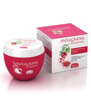 Helan Naturals Melagrana (Italian for Pomegranate) Sulfate Free and Paraben Free Moisturizing and Nourishing Scented Body Cream