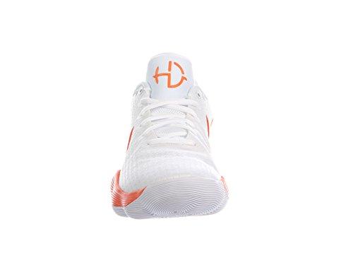 Canada Mens Reagere Hyperdunk 2017 Lave Syntetisk Løpesko Hvit / Strålende Oransje