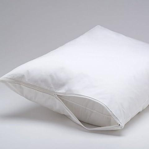 PREMIUM BED BUGS KING Pillow Protector - Lifetime Warranty (Bedbug Pillowcase)