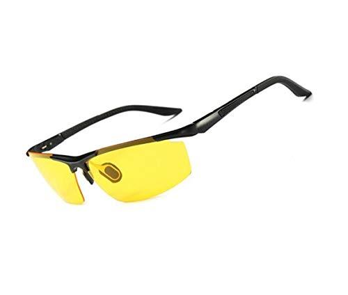 visión de Black libre aire sol Mujeres viajar sol sol Huyizhi al Gafas Hombres de UV400 metal Marco para Ciclismo de Gafas nocturna Protección de Guay Conducción de Gafas AWwZxpqzU