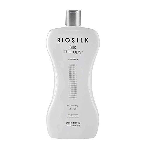- Biosilk Silk Therapy, Shampoo, 34 Fluid Ounce