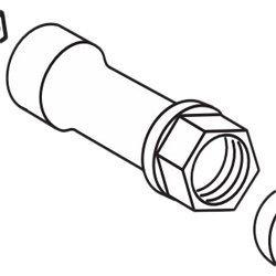 Moen Cartridge Nut - 6