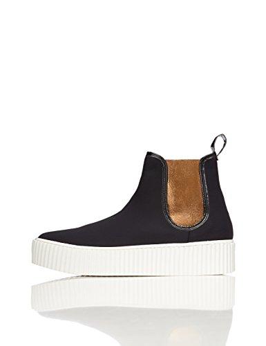 Sneaker Nero Donna Con Find black Plateau z7RZq