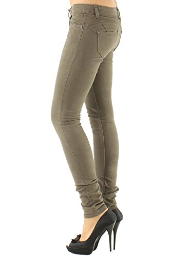 Jeans B038 mocha Divadames Donna k BTYwq6w