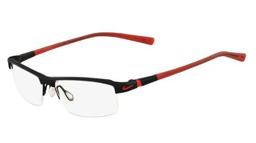 New Nike Vision Men\'s Eyeglasses 6050 001 5514 Black 55 MM Glasses ...