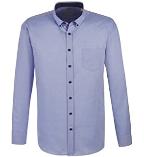 ... Casual Hemd Einfarbig mit Dezentem Muster (9150-98814) · EUR 59,99 ·  Bugatti - Regular Fit - Herren Hemd Langarm mit Button Down Kragen  (9300-98800 41662e3a1f