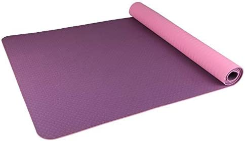 Yoga mat 8ミリメートルヨガマット折りたたみトラベルフィットネスとエクササイズマット|ヨガの折り畳み式ヨガマットについてはA品種、ピラティス、フロアエクササイズ、グリーン、パープル workout
