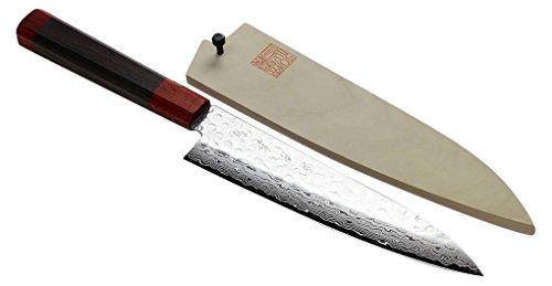 Yoshihiro Hammered Damascus Japanese Magnolia product image