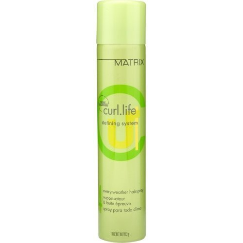Curl Life By Matrix Defining System Every Weather Hair Spray 10 Oz (unisex) (Matrix Hair Products Curl Life)