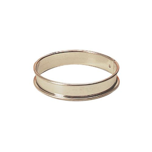 - Paderno World Cuisine 8 5/8 Inch by 3/4 Inch Tart Pastry Ring