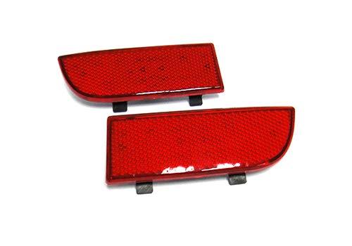 2x Luz de parachoques trasero de lente roja Reflector OEM Izquierdo Derecho para 2003-14 MB Viano Vito Clase V W639