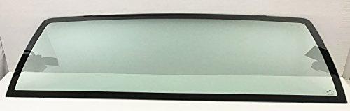 NAGD for 1999-2006 Chevrolet Silverado Pickup 1500 2500 2500 3500 Stationary Back Window Glass - Glass Back Window