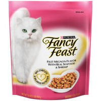 Fancy Feast Gourmet Gold Filet Mignon Flavor With Seafood and Shrimp Dry Cat Food (16-oz pouch), My Pet Supplies