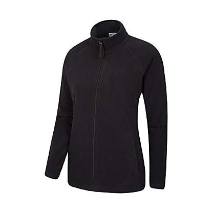 Mountain Warehouse Raso Womens Fleece - Microfleece Ladies Sweater Top, Breathable Baselayer, Soft Touch, Warm - Best… 3