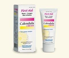 Boiron Calendula Cream -- 2.5 oz